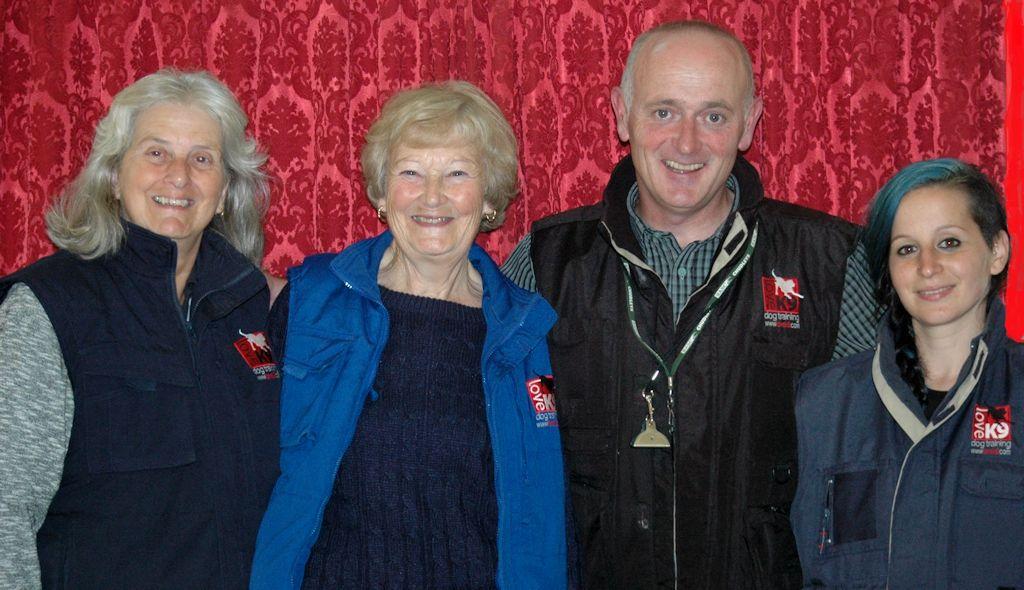 Jean, Vicky, Brian & Noemi